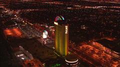 Aerial Palms Las Vegas Stock Footage