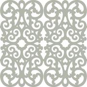 seamless ornament tiles - stock illustration