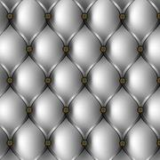 buttoned gray background - stock illustration