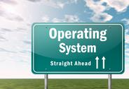 Stock Illustration of highway signpost operating system