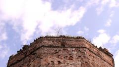 Castle Tower in Ecka village in Serbia 1 of 5 (4 sequences)  multiple shots Stock Footage