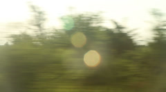 Window View from Car, Bus, Train. Traveling Full HD videos - No 108 Stock Footage