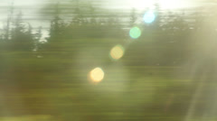 Window View from Car, Bus, Train. Traveling Full HD videos - No 115 - stock footage
