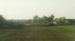 Window View from Car, Bus, Train. Traveling Full HD videos - No 125 - stock footage