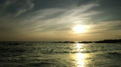 Kurosakinohana sunset, color graded Full HD (1920x1080) Stock Footage