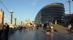 London City Hall - stock footage