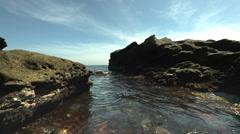 Kenzaki seaside, color graded Full HD (1920x1080) Stock Footage
