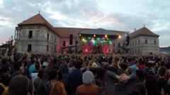 Suie Paparude live at Electric Castle Festival Stock Footage