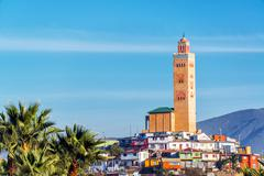 Mosque on hill in coquimbo, chile Stock Photos