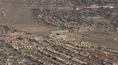 Desert City Mountain Stock Footage