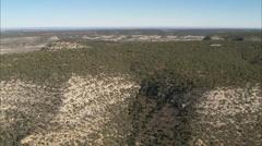 Desert Brush Hills Stock Footage