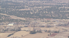 Desert Town Brush Stock Footage