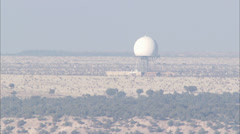 Desert Water Tower Brush Stock Footage