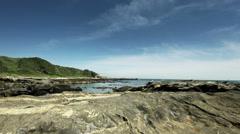 Jogashima sea 02, color graded 4K (3840x2160) Stock Footage