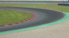 Motorbike and Superbike motorsports racing Stock Footage