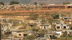 Rural township school in south africa Stock Footage