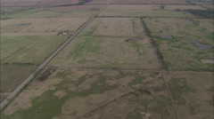 Oklahoma Countryside Lakes Stock Footage