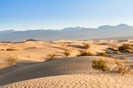 Stock Photo of death valley desert