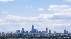 4K Resolution timelapse of beijing skyline Stock Footage