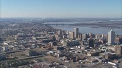 Memphis Skyline Stock Footage