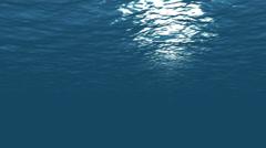 Looping Underwater 1 Stock Footage