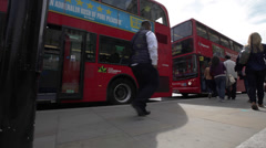 Double Deck Bus, London Stock Footage