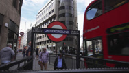 Stock Video Footage of Double Decker Bus Tube Transport for London