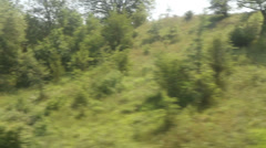Window View from Car, Bus, Train. Traveling Full HD videos - No 169 Stock Footage