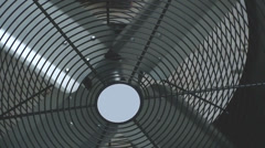 Industrial warehouse fan Stock Footage
