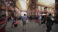 Stock Video Footage of Leadenhall Market, London England United Kingdom