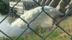 Hydro electric dam 06 Stock Footage