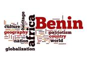 Stock Illustration of benin word cloud