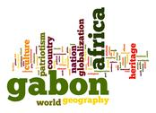Stock Illustration of gabon word cloud