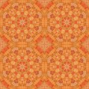 Seamless pattern, mosaic of fabric - stock illustration