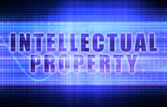 intellectual property - stock illustration