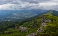Stock Photo of vododelniy ridge in  carpathians