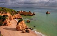 Stock Photo of dona ana beach, lagos, portugal