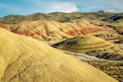 Painted hills unit of john day fossil beds national monument Stock Photos