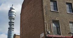 Telecom Tower London 4K - stock footage
