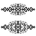 Stock Illustration of ottoman motifs design series fifty-three