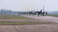 F-15 Eagle Fighter Jets Stock Footage