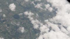 B2 Spirit stealth bomber Aerial Refuel - stock footage