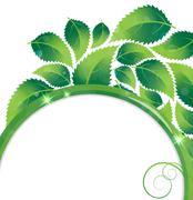 Stock Illustration of foliage environmental  background