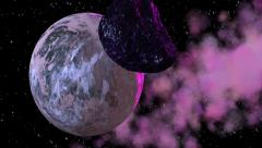 Asteroids 1 - stock footage