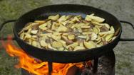 Roasted Potatoes Stock Footage