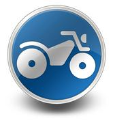 Stock Illustration of icon, button, pictogram atv
