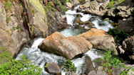 Stock Video Footage of Beautiful river detail on the Pirineus (Spain)