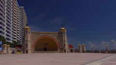 Daytona Beach Bandshell Stock Footage