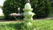 Stock Video Footage of Fire Hydrant with a gauge