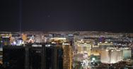 Stock Video Footage of 4K video of the stunning Las Vegas skyline at night